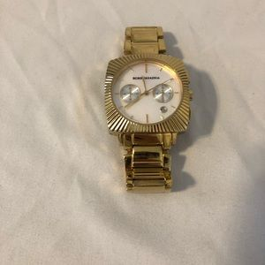 BCBG Max Azria gold tone watch